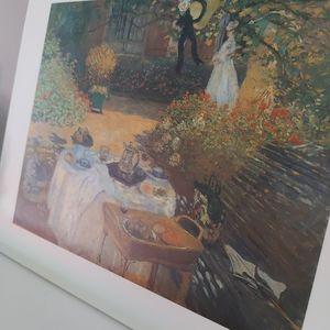 Monet recreation art print